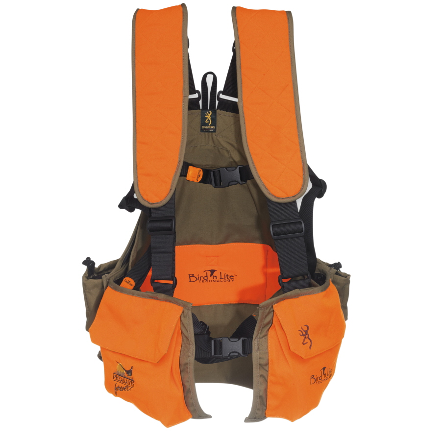 e2bf783295148 Browning Bird'n Lite Upland Strap Vest, Pheasants Forever® Edition