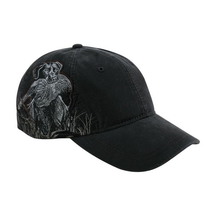 DRI-Duck Wildlife Series Cap - Black Lab e6095175a90