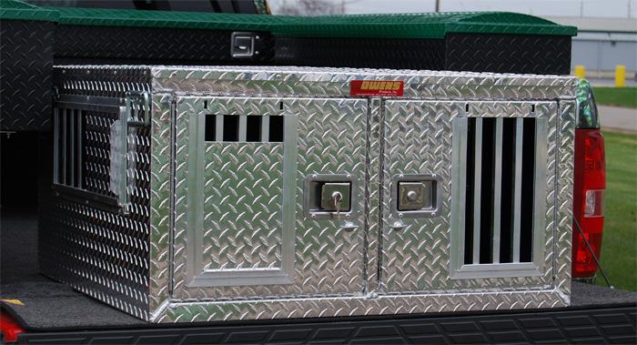 Dee Zee Truck Box >> Owens 2-Dog Box #55077 - 48x36x20
