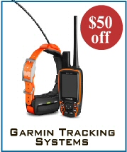 $100 off Garmin Tracking Systems