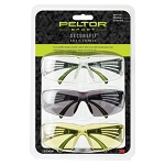 Peltor Sport - SecureFit Safety Eyewear, 3-pack