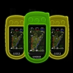 Protective Cover for Garmin Alpha, Glow-in-the-Dark