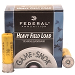 Federal Ammunition Game•Shok® Heavy Field Load, 20 ga 7 1/2 shot