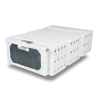 Ruff Land Cackle Box, Bird Transport-Training Coop (7-inch)