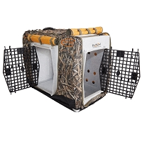Ruff Land Double Door Kennel Cover