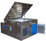 TOP DOG - 2-Dog Box - 38x48x25 - Top Storage - DB3848T