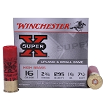 Winchester Super-X High Brass Upland and Small Game Load, 16 ga 7 1/2 shot