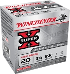 Winchester Super-X High Brass Upland and Small Game Load, 20 ga 5 shot