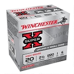 Winchester Super-X High Brass Upland and Small Game Load, 20 ga 6 shot