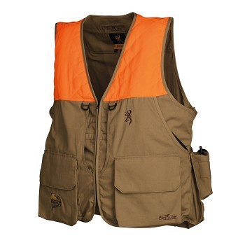 Browning Bird'n Lite Upland Pack Vest, Pheasants Forever® Edition