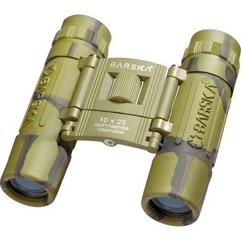 Barska Optics - Lucid View Compact Binoculars, 10x25