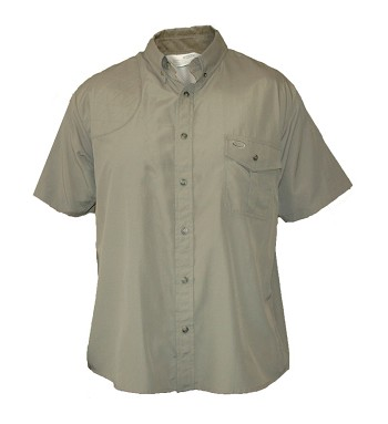 "Bob Allen ""Pica Zuro"" Vented Shooting Shirt with Shooting Pad - Short Sleeve"