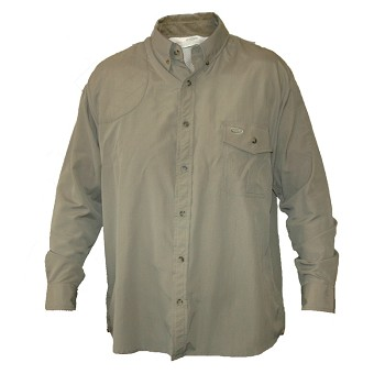 "Bob Allen ""Pica Zuro"" Vented Shooting Shirt with Shooting Pad - Long Sleeve"