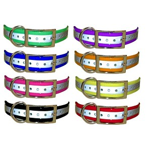 Universal Replacement Collar Strap, Reflective, 1-inch