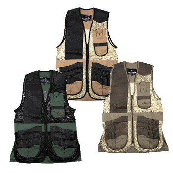 Wild Hare Range Leather and Mesh Shooting Vest