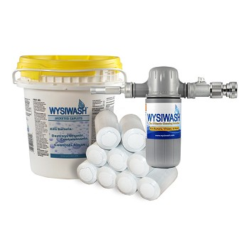 WYSIWASH Sanitizer-V System with 9-pack Jacketed Caplets